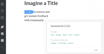 Grammarly Document Creation Example