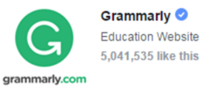 Grammarly on Facebook - Likes