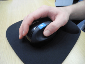 ergonomic-mouse with wrist support