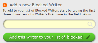 Image of Block Writer Button