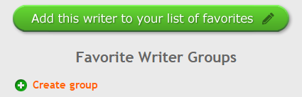 Image of Create Writer Group Button