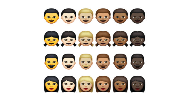 Emoji have grown and adapted to accomodate a global and diverse communicative landscape.