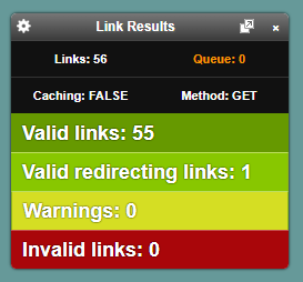 check outbound links on your page