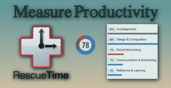Measure Productivity with RescueTime