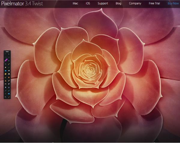 Pixelmator Homepage Art