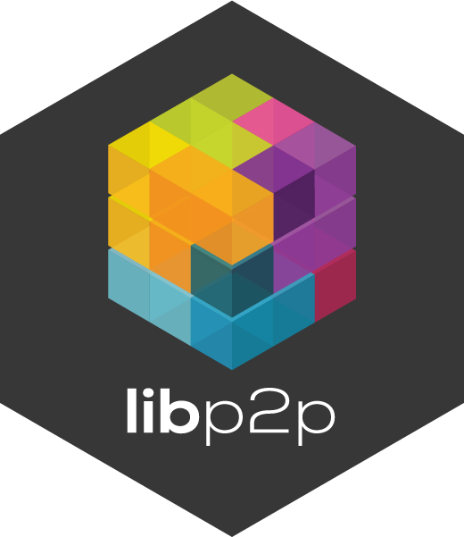 lib peer to peer logo for ipfs